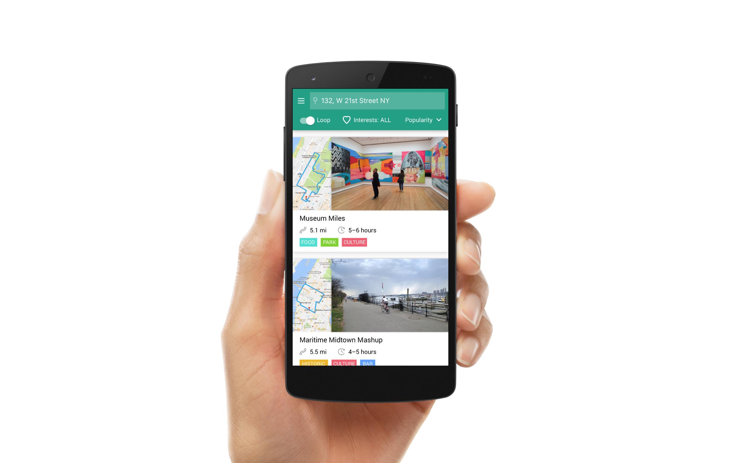 Biketinerary - Using bikeshare networks to explore new cities