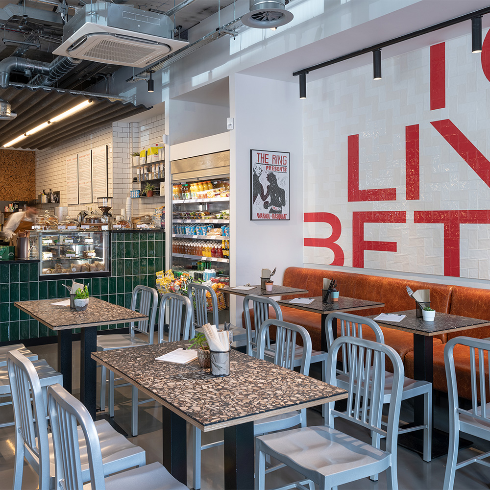 TO LIVE BETTER LONDON Cafe