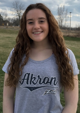 Katie Applin has committed to the University of Akron.  Katie will be graduating from Dansville High School in the top 10% of her class with a cumulative GPA of 96%! For the Dansville Mustangs, Katie is the 2014 Section V Champion. She is also a two time NYSPHSAA Finalist (2014 & 2015) and in 2015 she finished 2nd in the state! For Blue Wave Katie was the 2015 Niagara District Group A (16/18) Champion in the 3M event. She is also a two time AAU All American and 2015  Silver medalist in the A+ (19+) 3M Synchronized Diving Event!