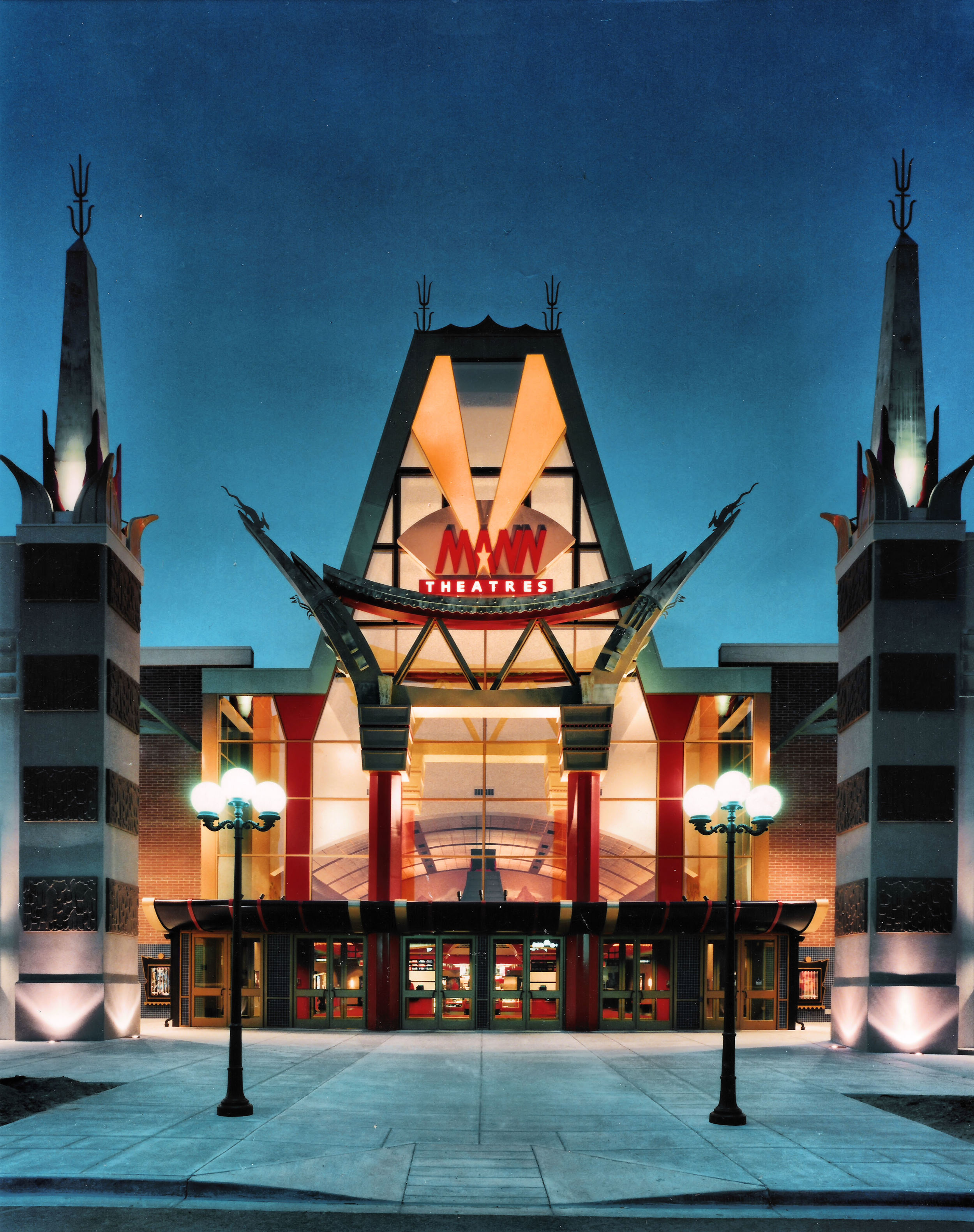 Mann's Chinese Theater Exterior, CO