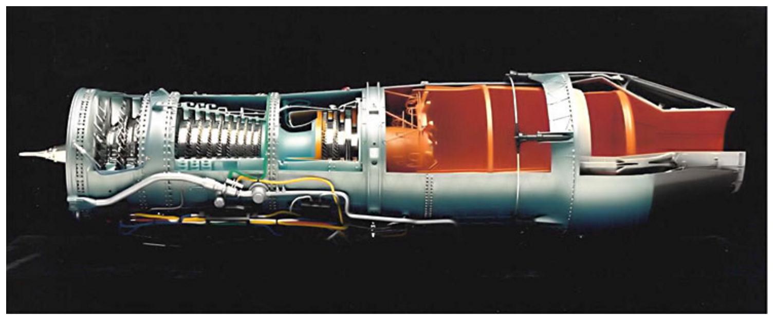 Jet Fighter Engine for Pratt & Whitney Engine