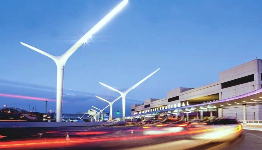 LAX Light Poles