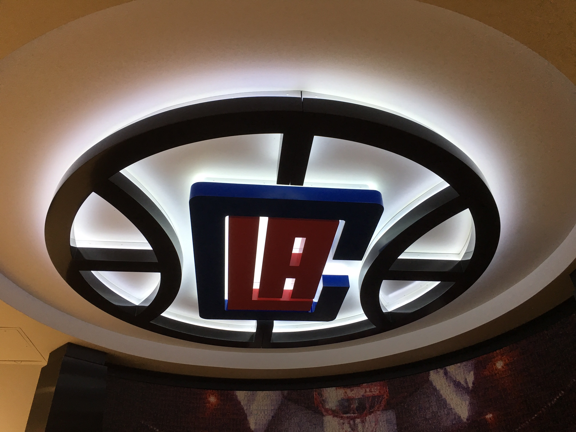 LA Clippers 3D Illuminated Logo