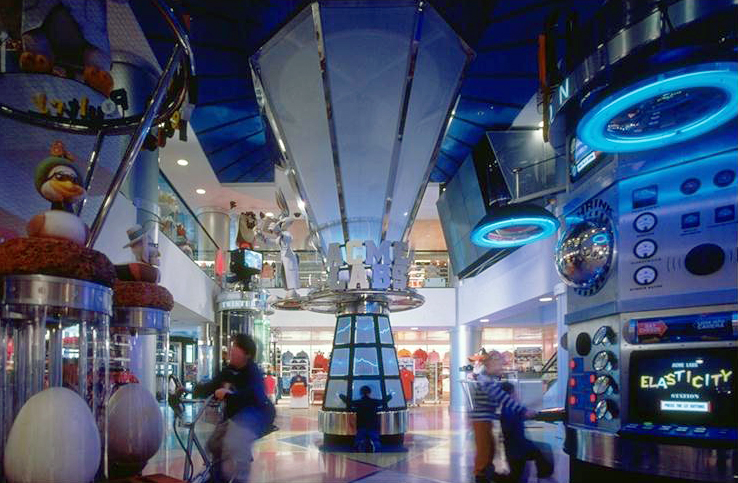 Warner Bros. Retail Store, Custom Interactives