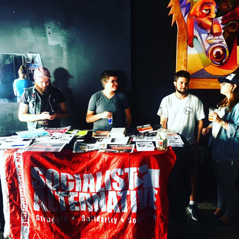 Socialist Alternative St. Louis during the 2016 presidential campaign