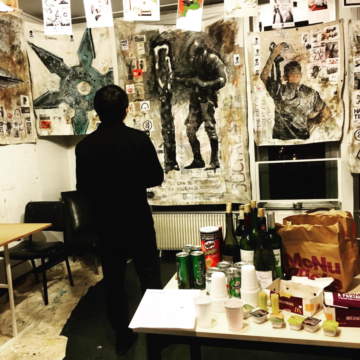 Open Studio, Cité Residency (Paris, Fall 2016)