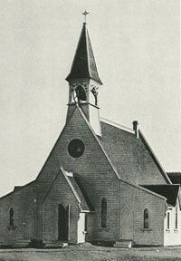 Church of the Redeemer 1886. Glenbow Archives NA 2074-4
