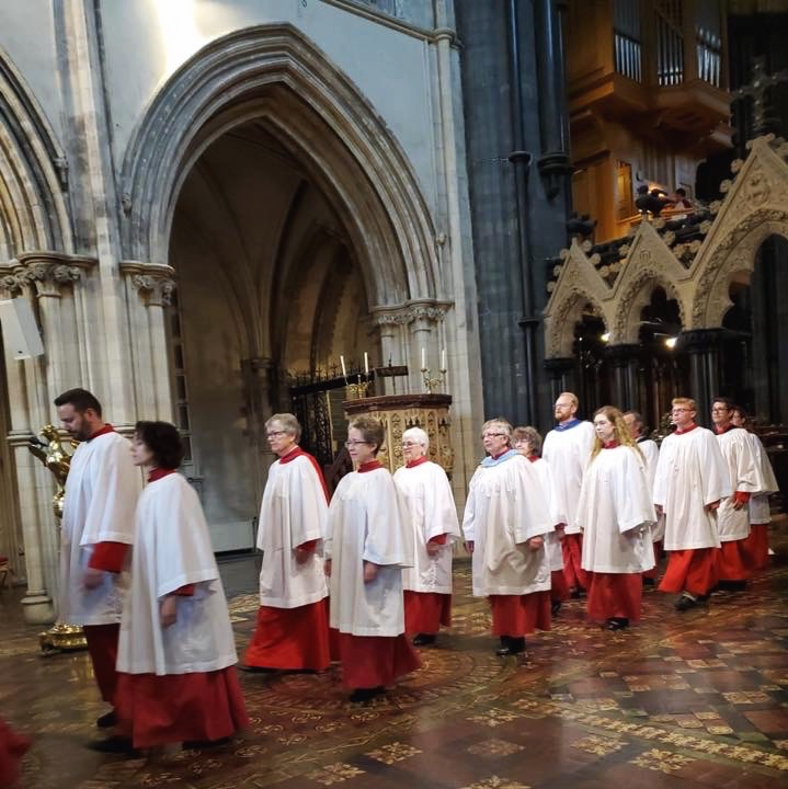 Procession at Christ Church, Dublin