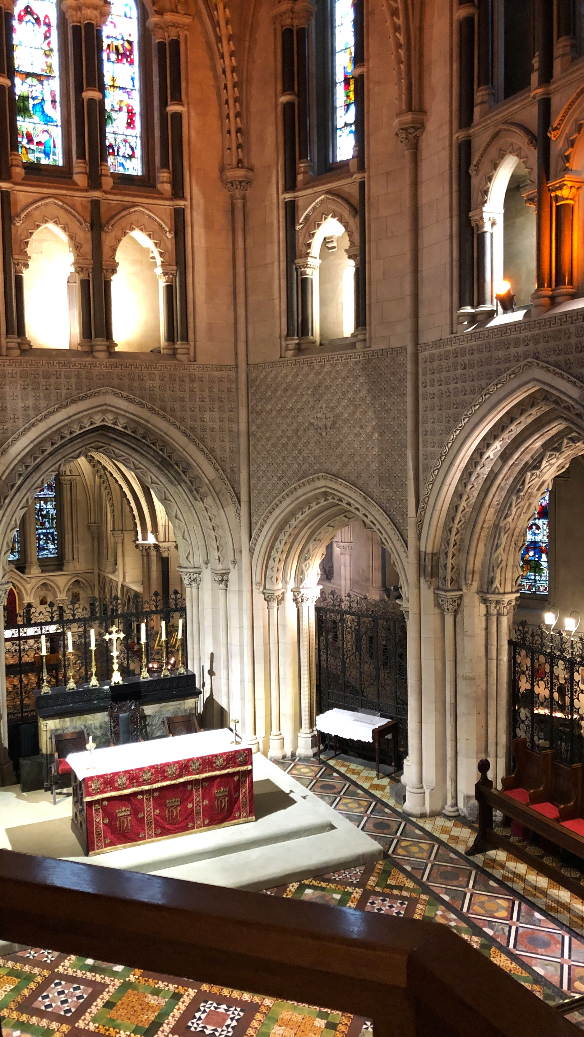 The High Altar at Christ Church Cathedral, Dublin