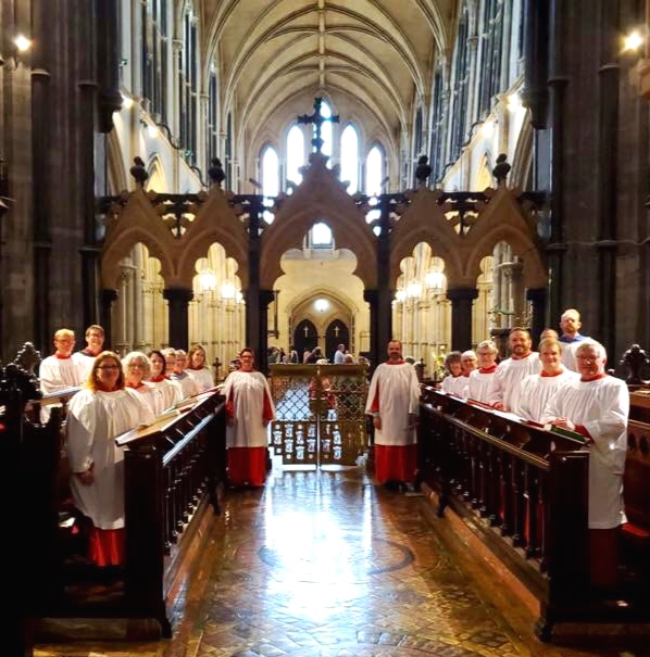 The Choir at Christ Church Cathedral, Dublin