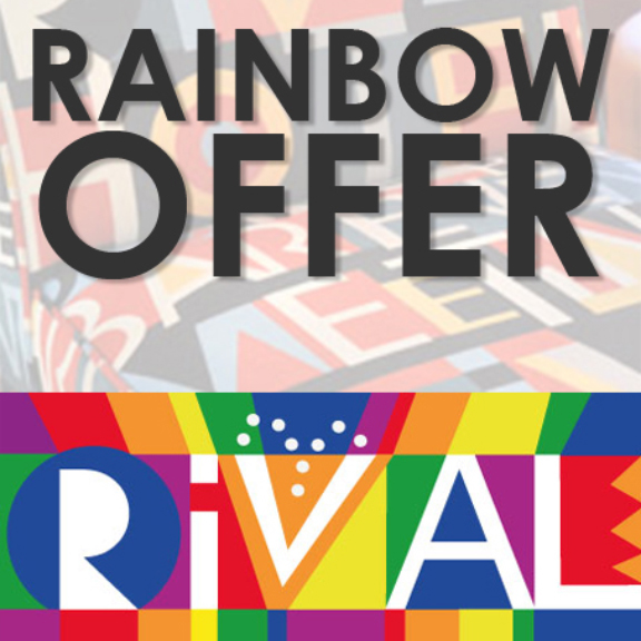 Hotel Rival offers a special Rainbow package to pink guests!