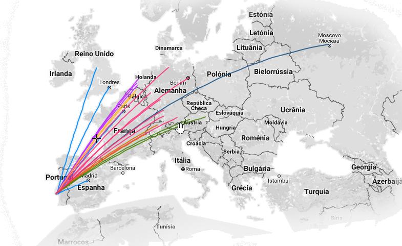 Músicos da Orquestra espalhados pela europa