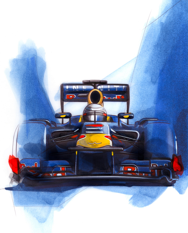 Sebastian Vettel - World Champion - Red Bull Racing
