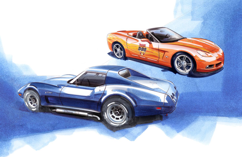 Chevrolet Corvette Duo