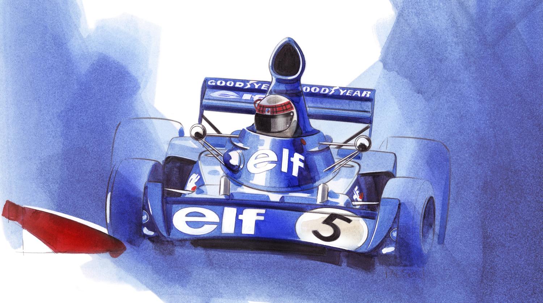 Jackie Stewart - Tyrell 006/2
