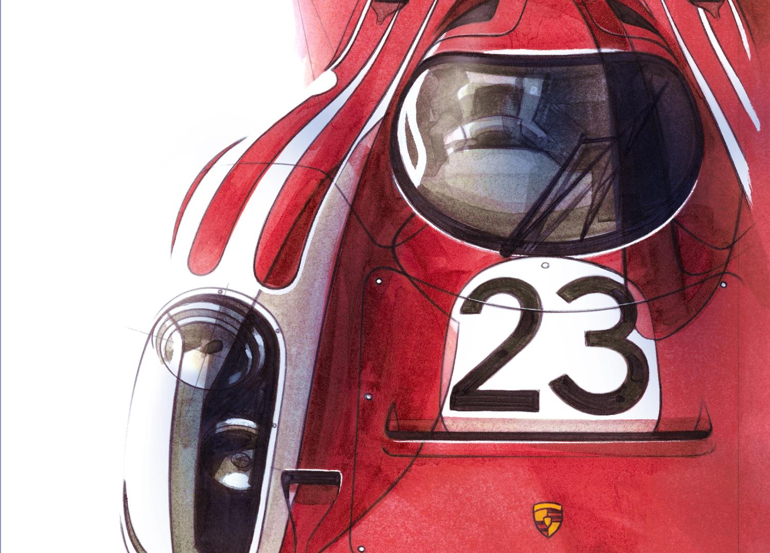 Porsche 917K Salzburg Team