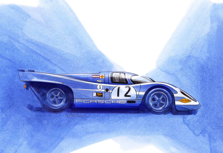 Porsche 917k Salzburg Racing Team (917 - 020)