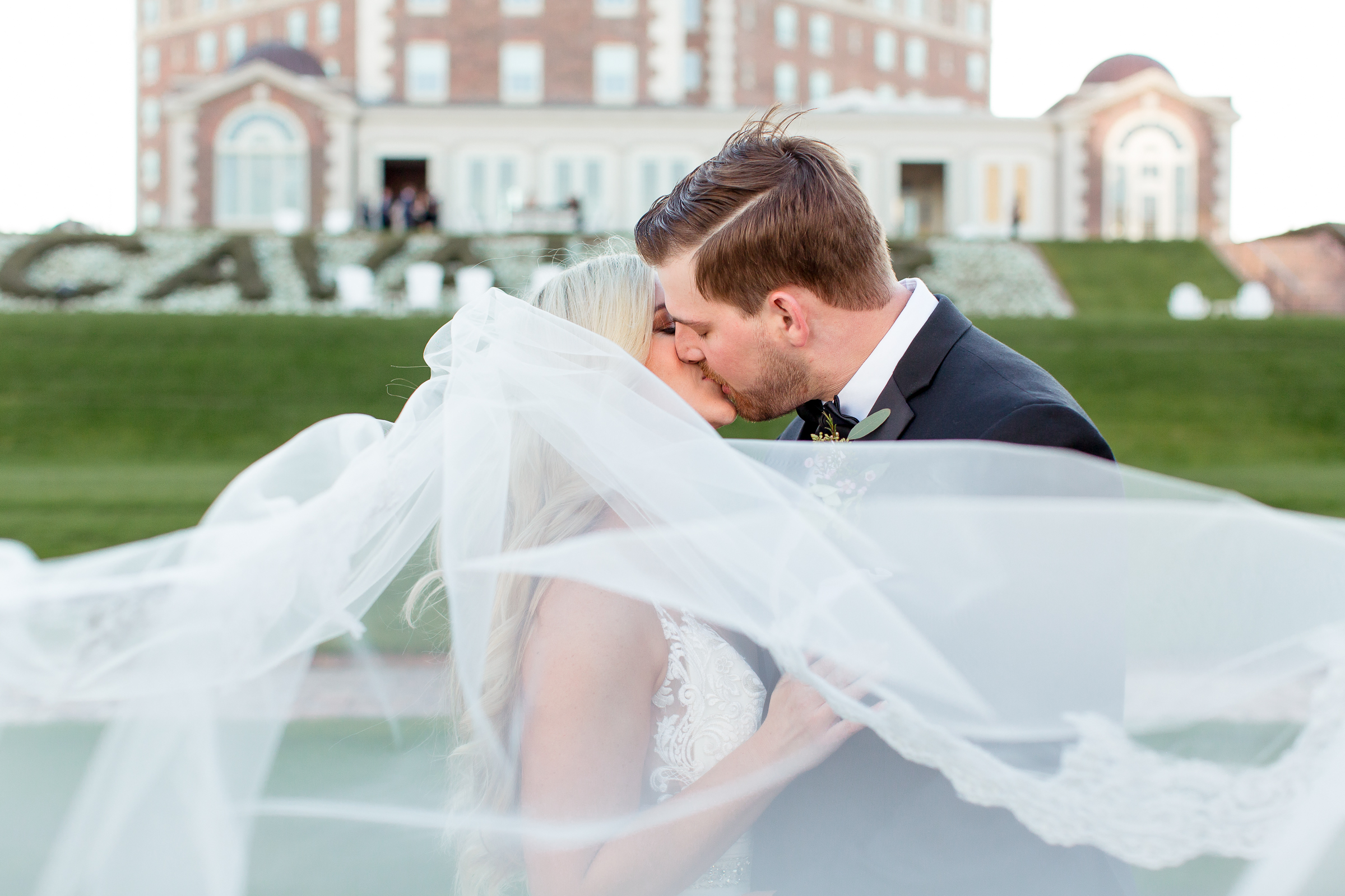 Lindsey + Grant: Cavalier hotel