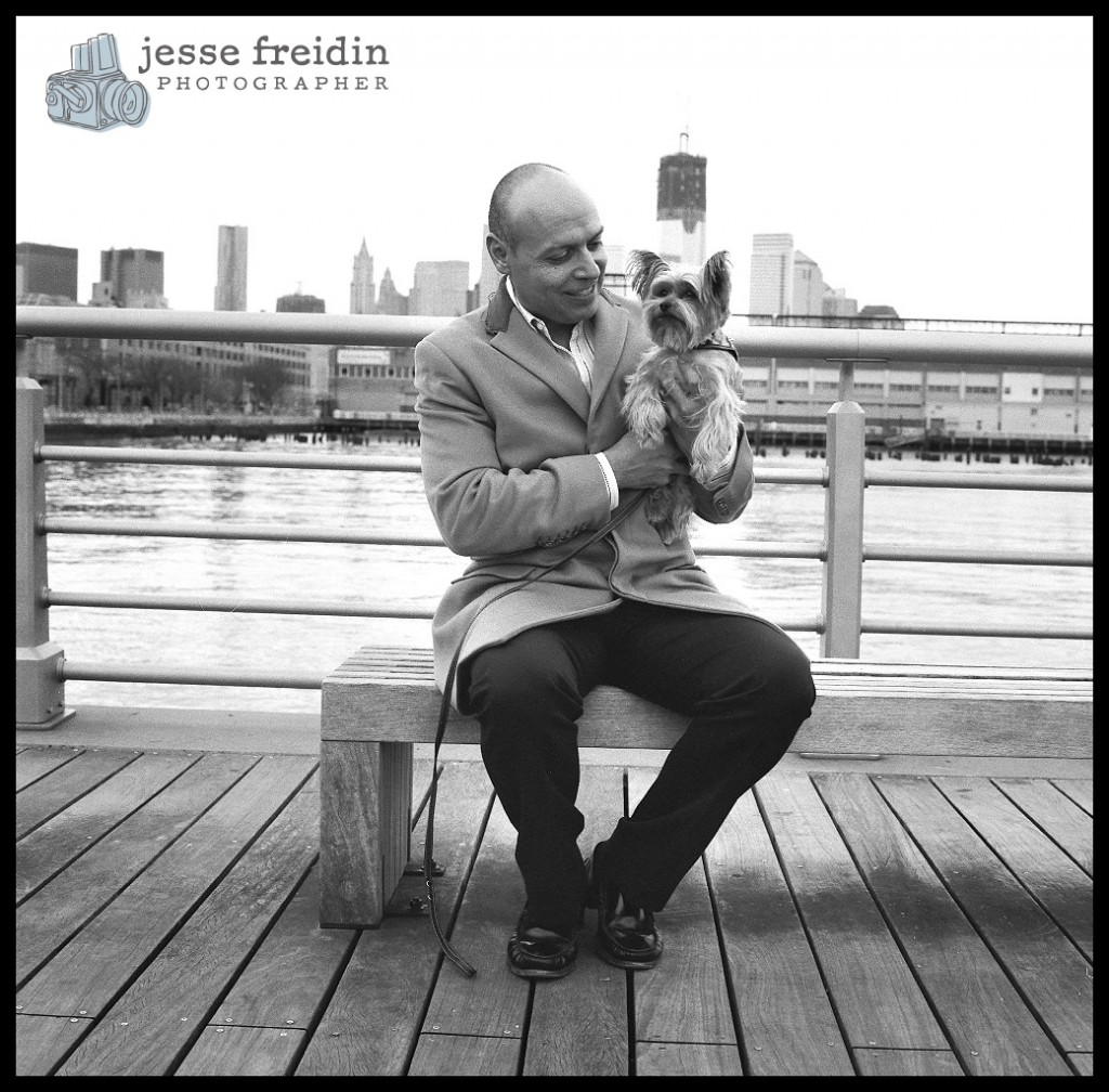 New York dog photographer Jesse Freidin