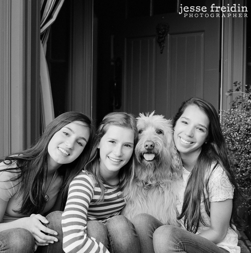 Black and White Dog Photography in LA