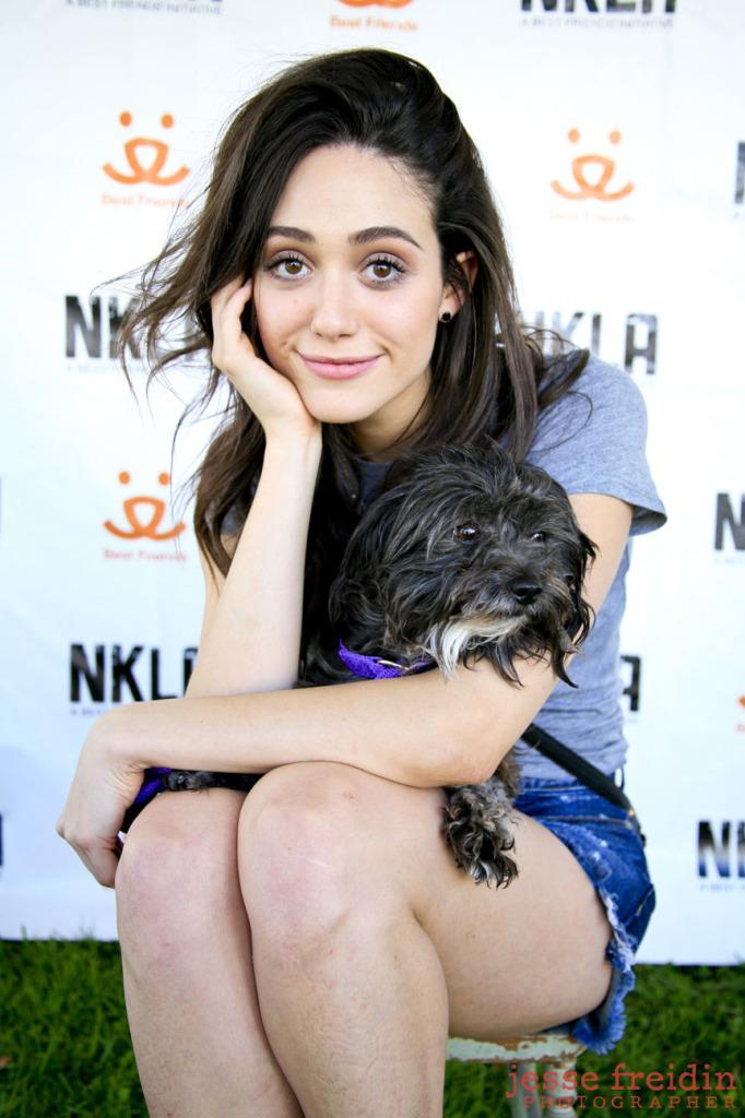 NKLA adoption Emmy Rossum