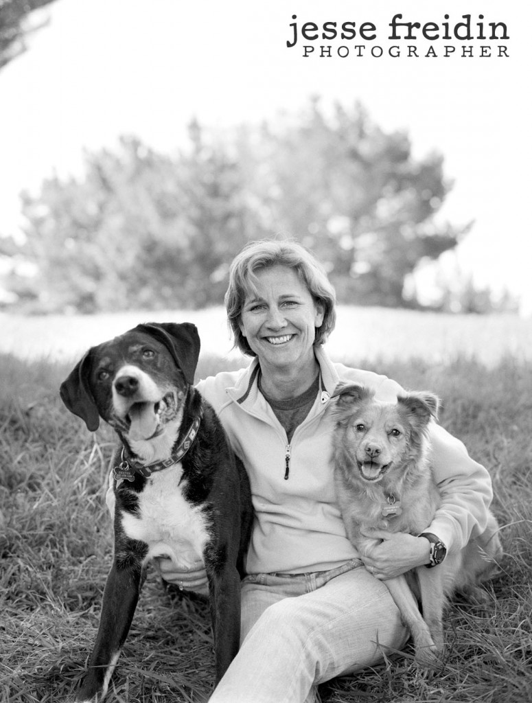 Contax 645 Black and White Pet Photography