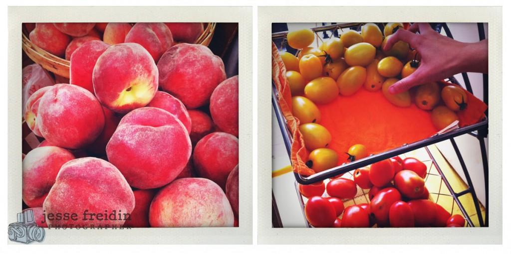 Peach and Plum Tomato