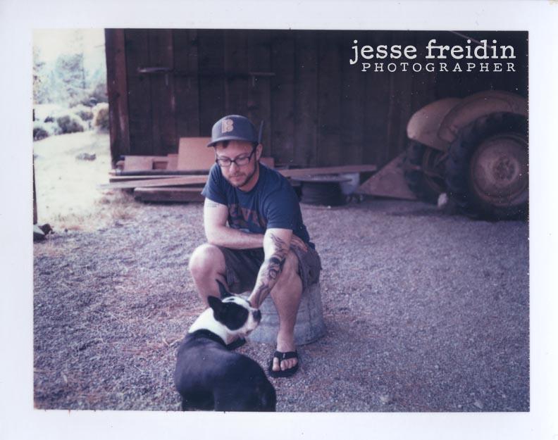 Polaroid Dog Portrait Freidin