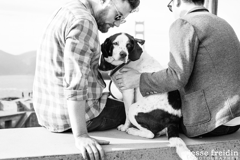 San Francisco Dog and Family Photography