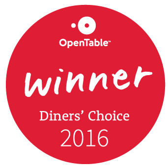 Opentable diner's choice 2016