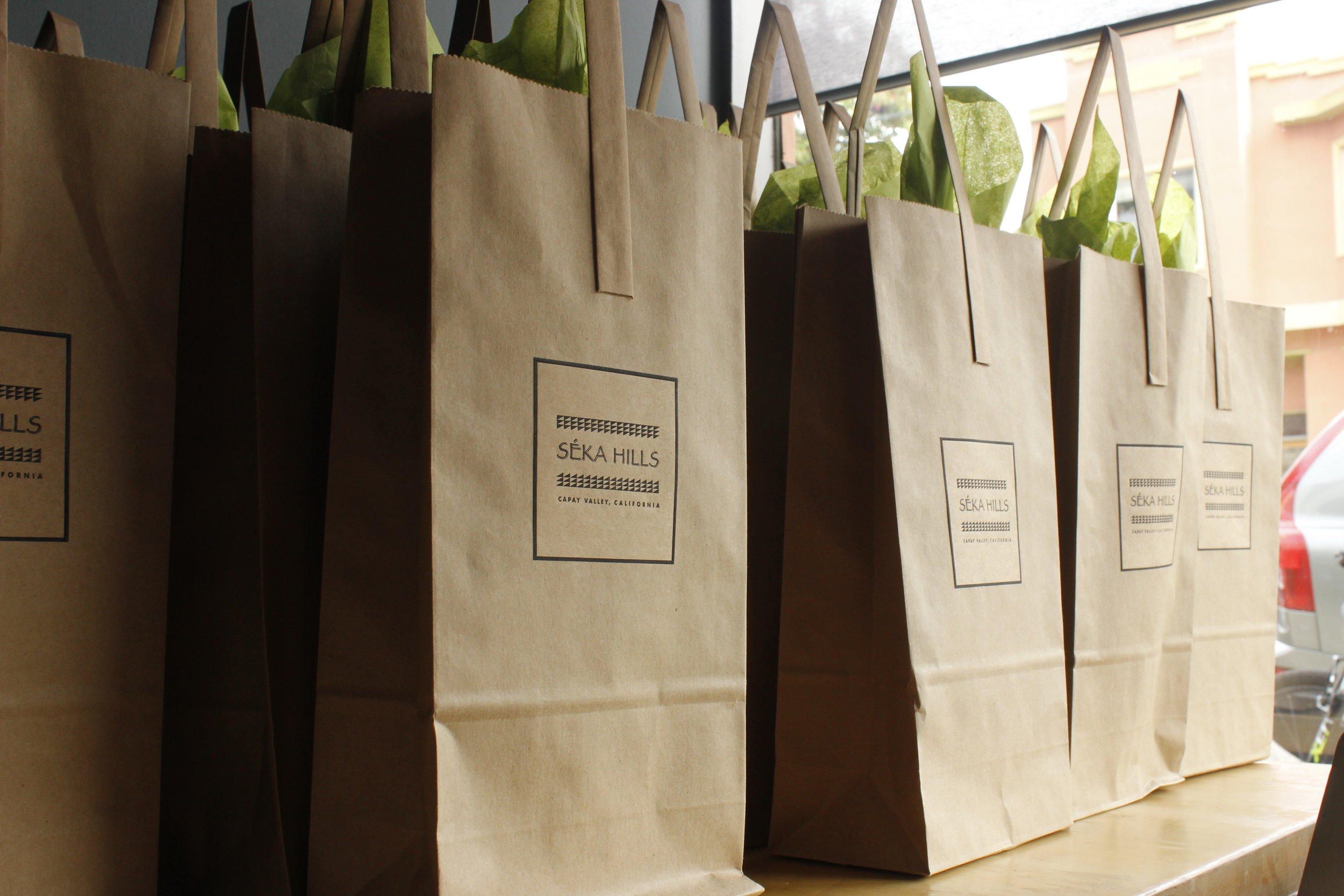 picture of seka hills brown paper bags