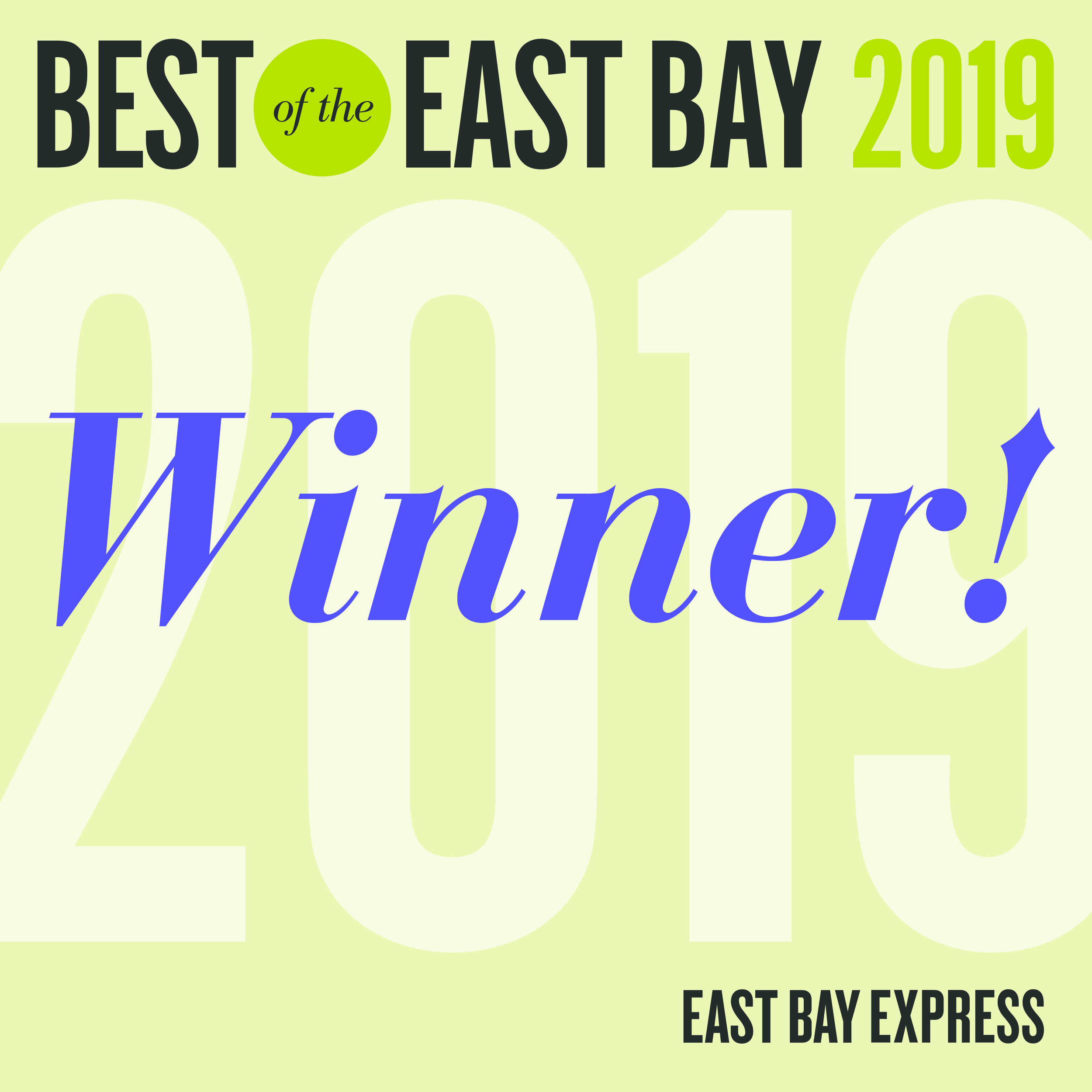 best of the east bay 2019 winner