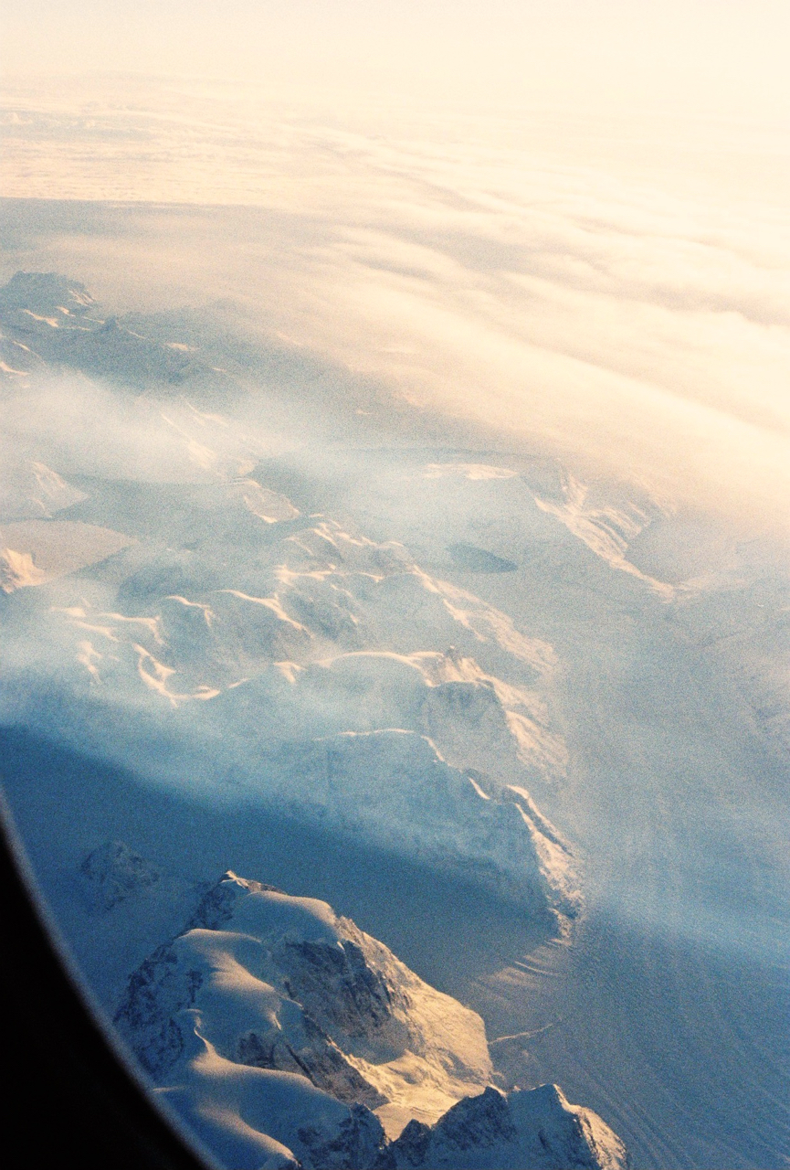 High over Greenland