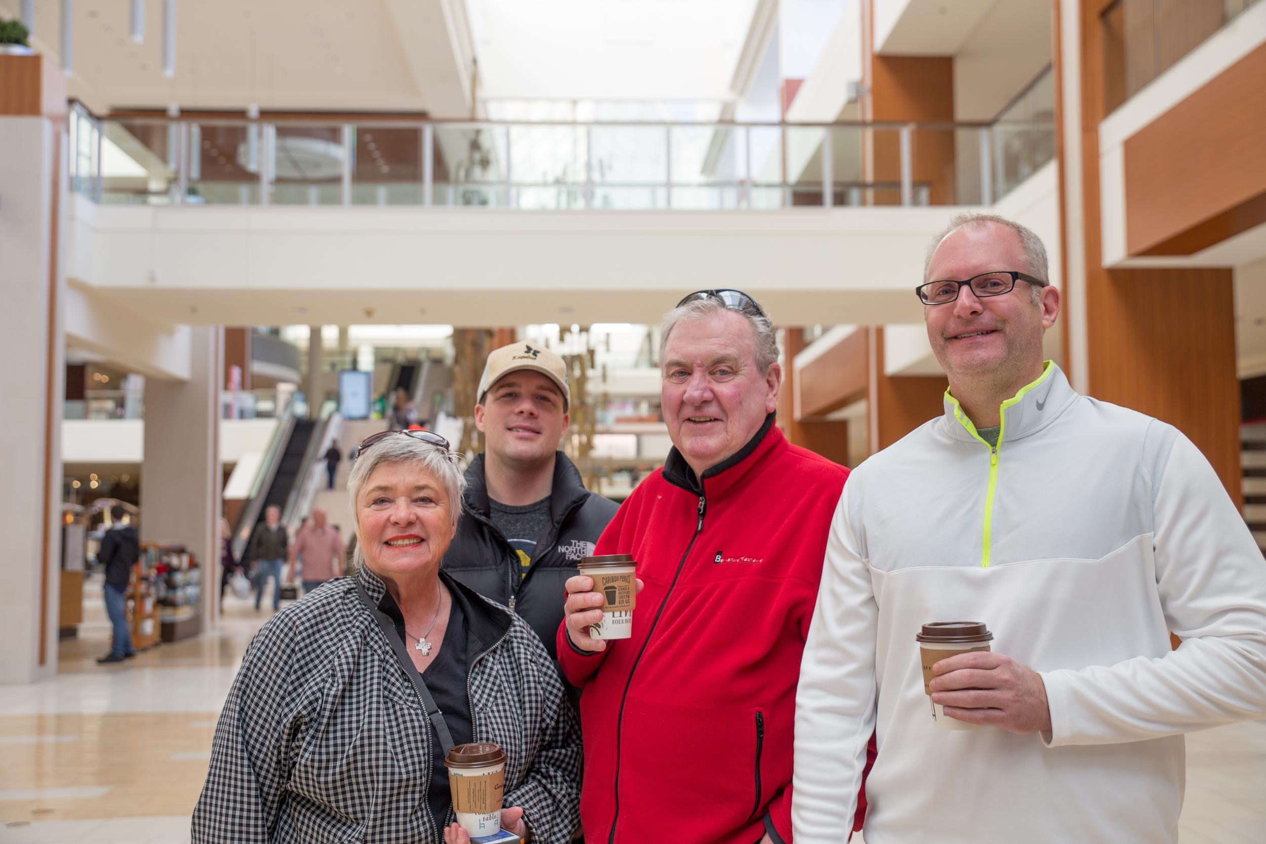 From the left: Nan Emmer, Scott Beuning, Jim Emmer, Brad Johnson