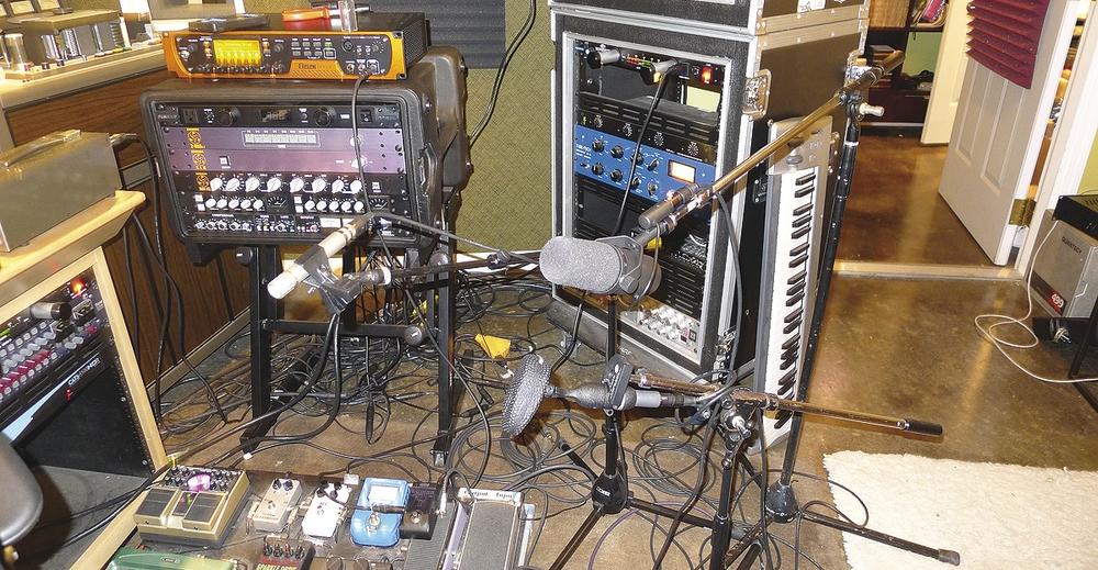 Nathan Chapman home studio