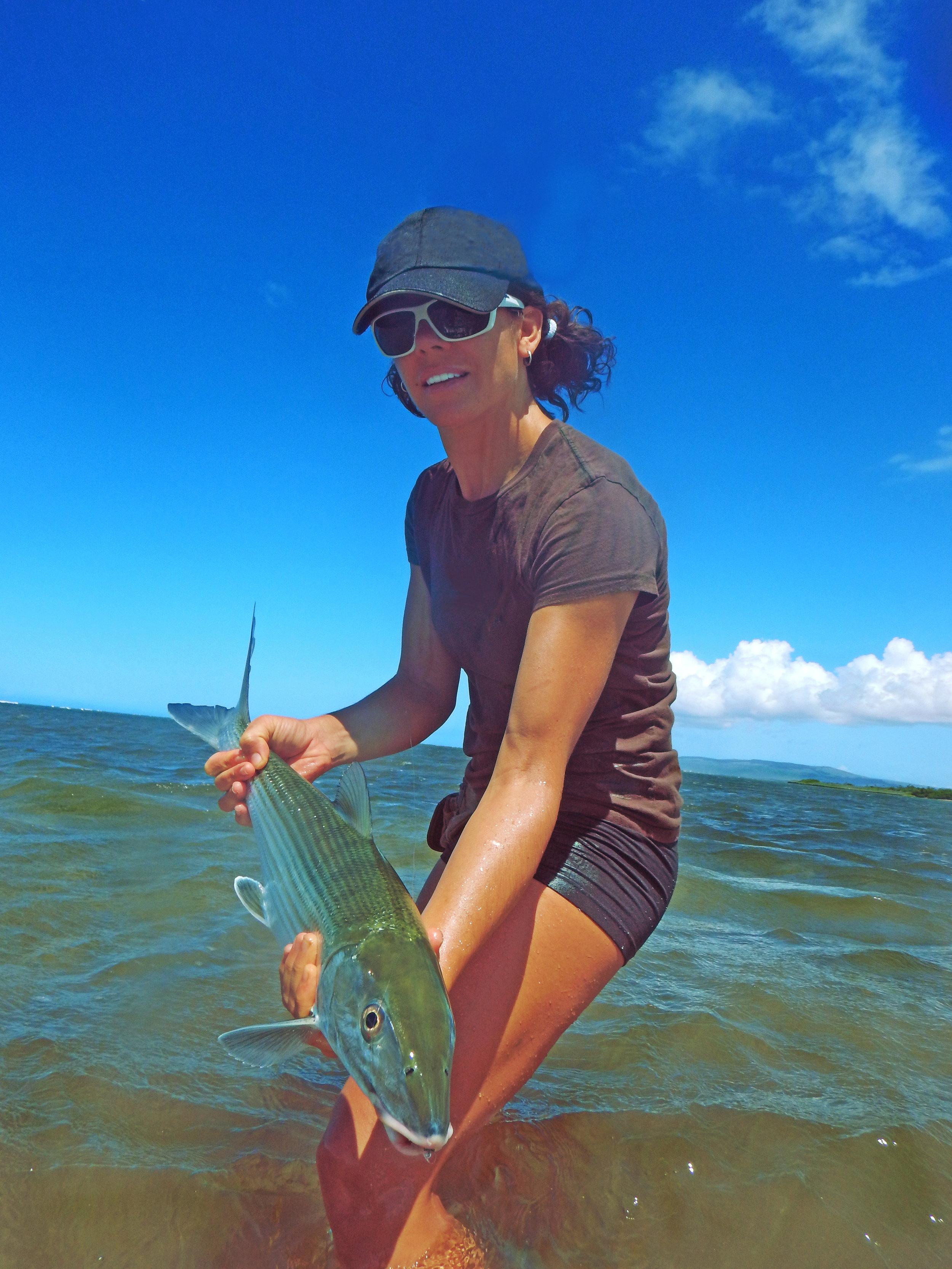 Molokai Average Sized Bonefish