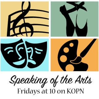 Speaking of the Arts Logo