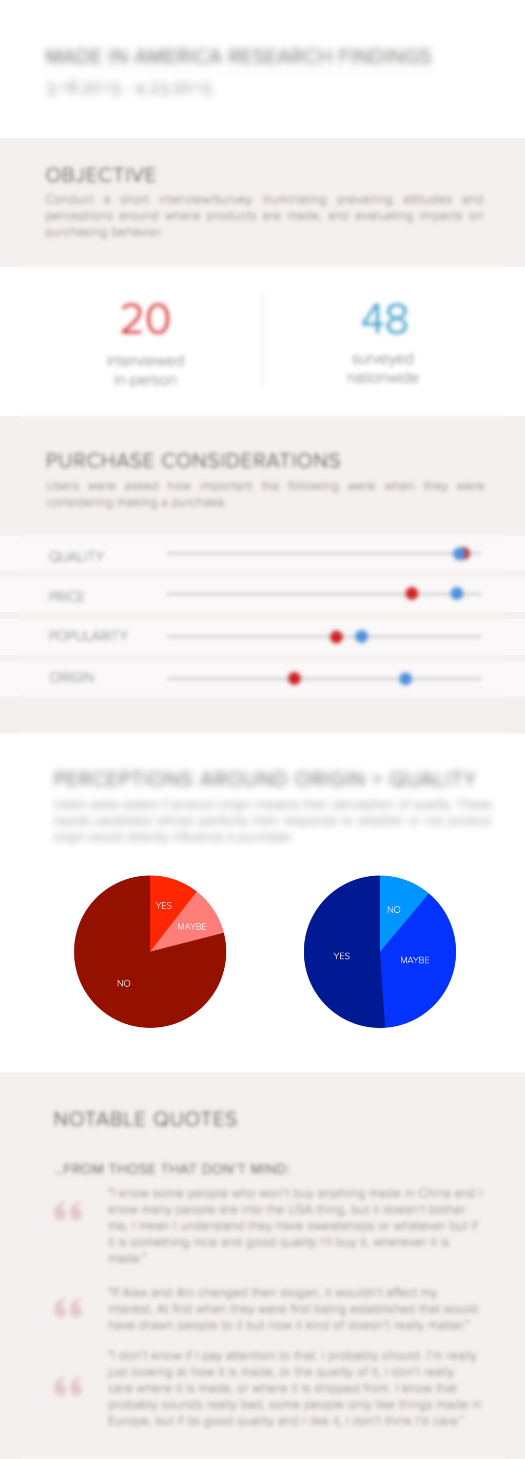 Another example of a UX digest sent to clients. Visual presentation of data always makes things easier to understand!