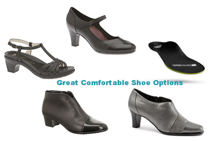 Create Comfortable Shoe Options