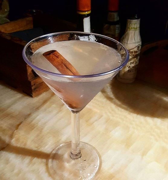 City: New York City Location:PHD Terrace at Dream Midtown Drink: Alpine Peak Martini Cost without Hooch: $17