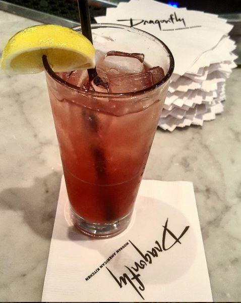 City: Dallas Location: Dragonfly (Inside Hotel ZaZa) Drink: Za Lemonade Cost without Hooch: $14