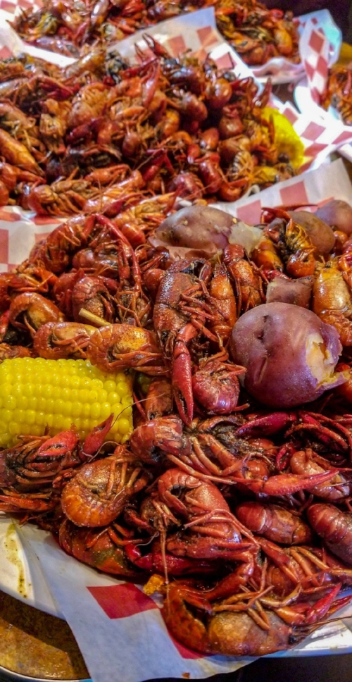 Customizable Crawfish experience