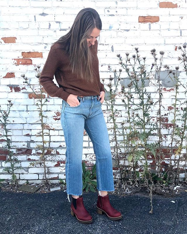 Comfy☑️ Waterproof☑️ Super cute☑️ These boots are everything you need in a fall shoe!  #bosandco #booties #fallstyle #fallfashion #trendy #dearlucy #whimboutique #shoplocalbtv