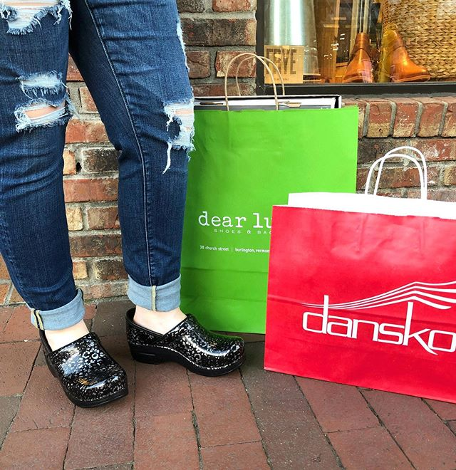 We're counting down the days until our Dansko Trunk Show! This Saturday - We'll see you there!  #dansko #clogs #danskotrunkshow #shoplocal #shoplocalbtv #boutique #dearlucy #sale
