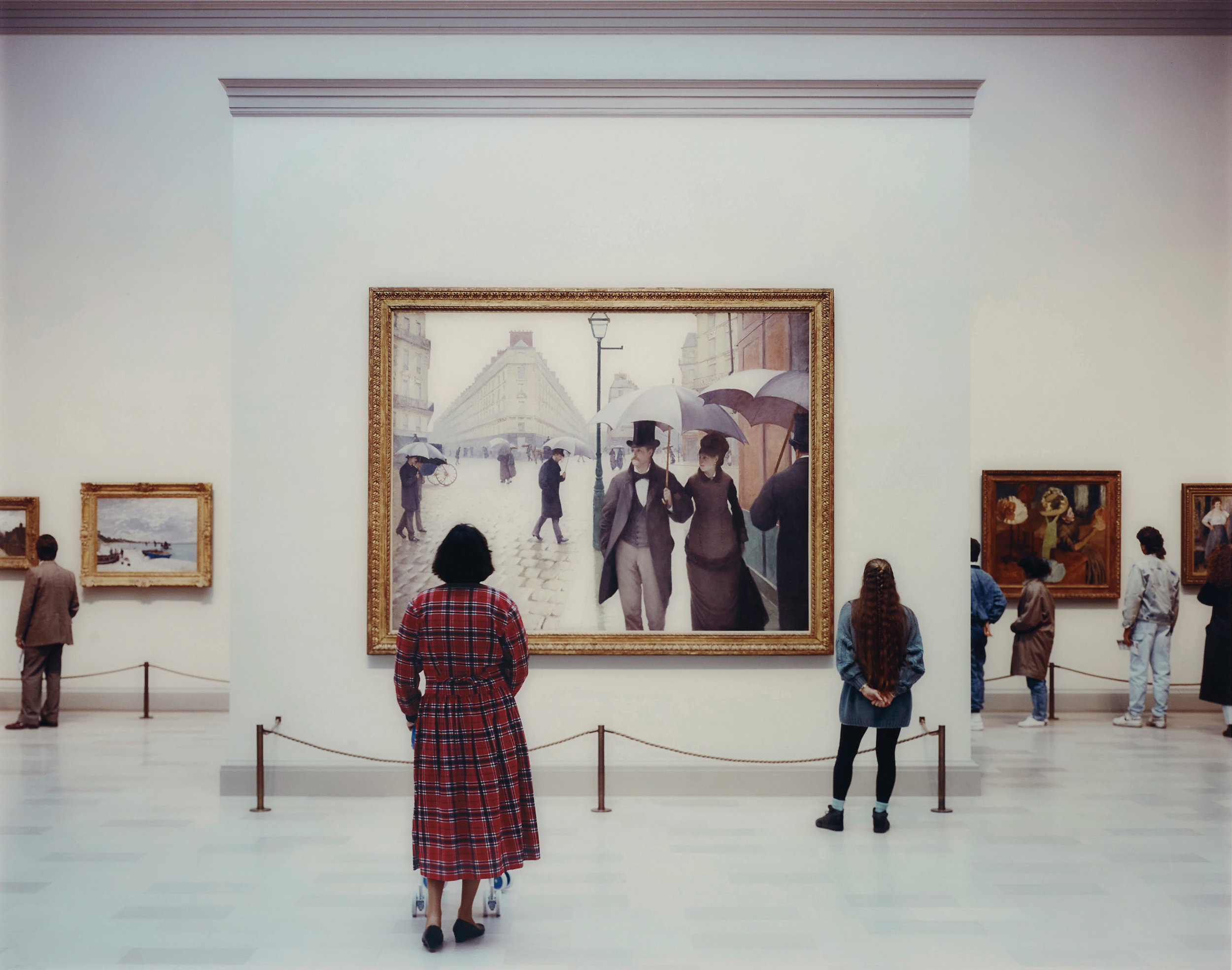 Thomas Struth,  Art Institute of Chicago II,  chromeogenic print 72x86 inches