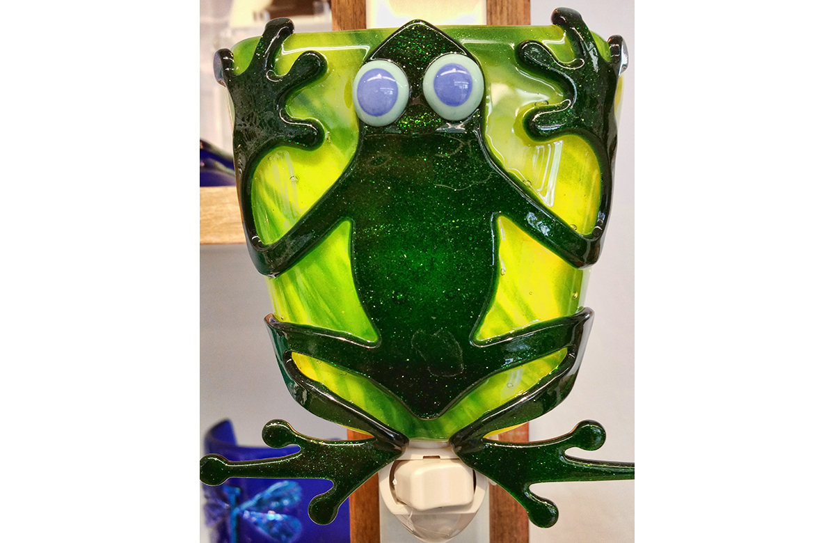 Frog Night light - Libby Kirk