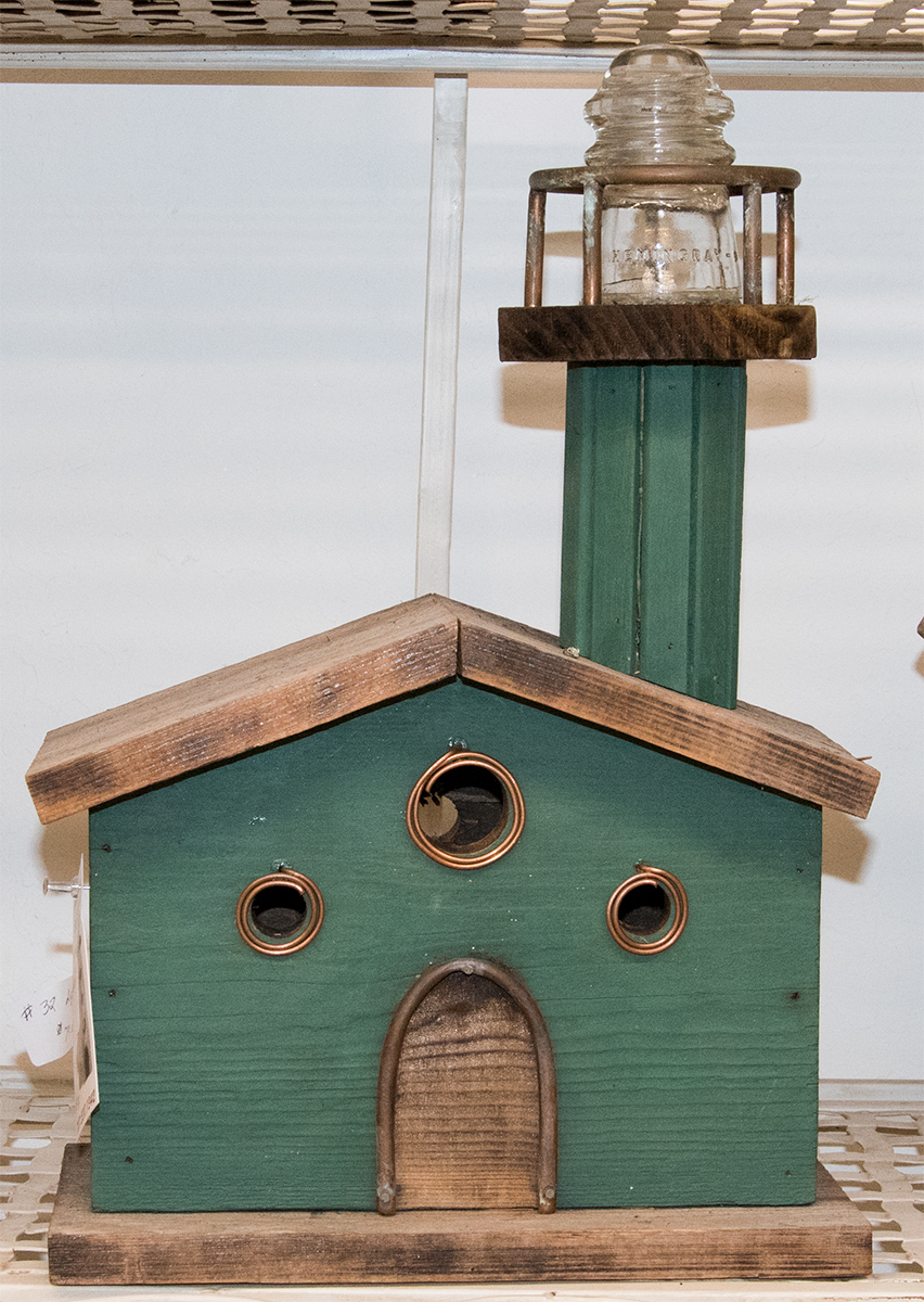 Mary Laures - Birdhouses