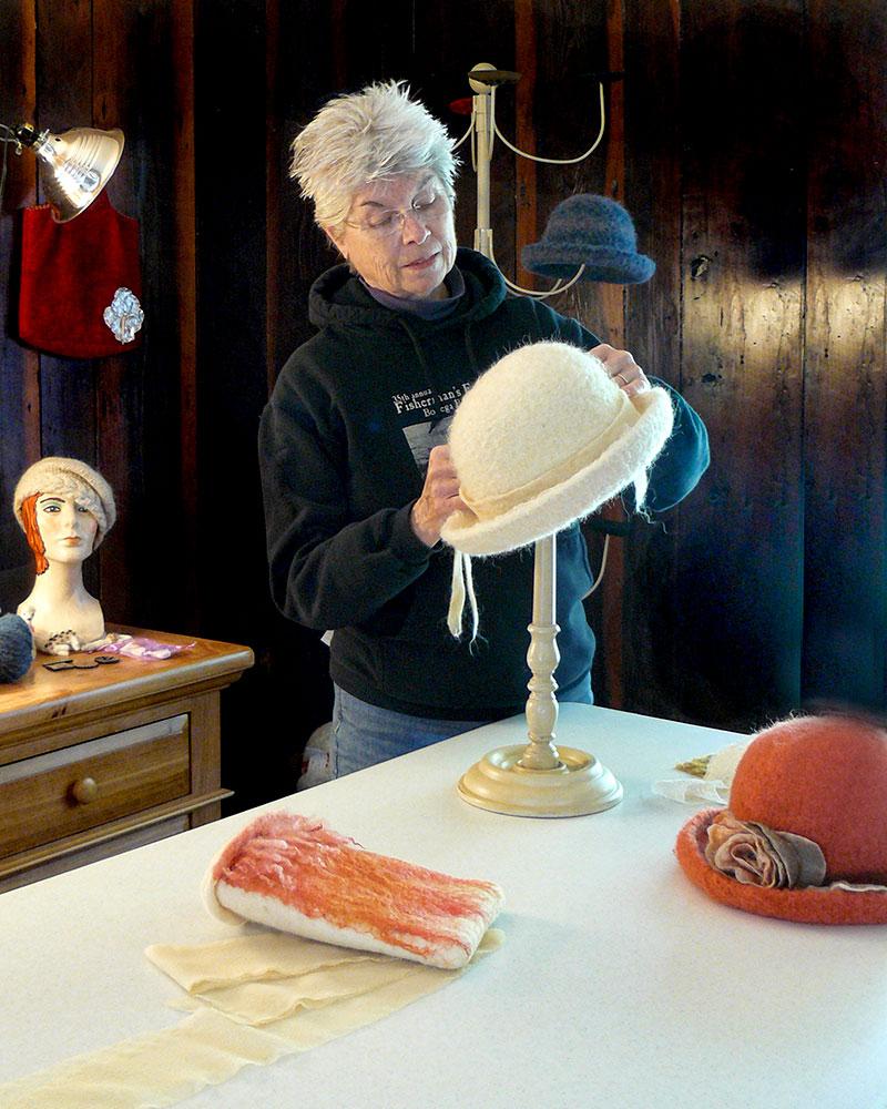Carol Culp - Felted Hats