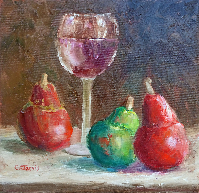 Fine Fiber by Carolyn Jarvis oil painting.jpg
