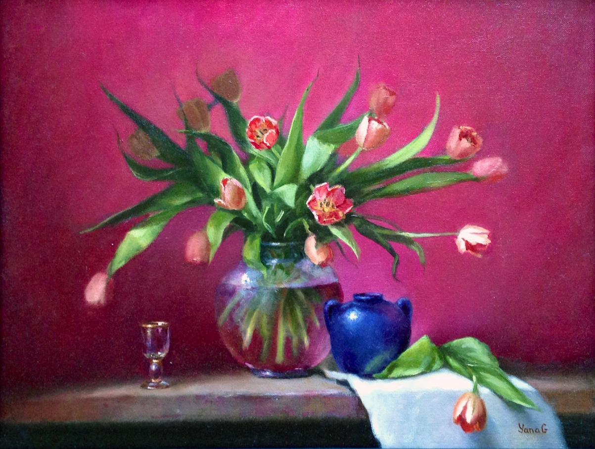 Tulips 14x18 Oil
